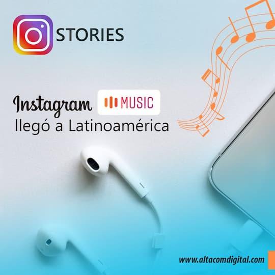 Instagram Music por fin llegó a Latinoamerica