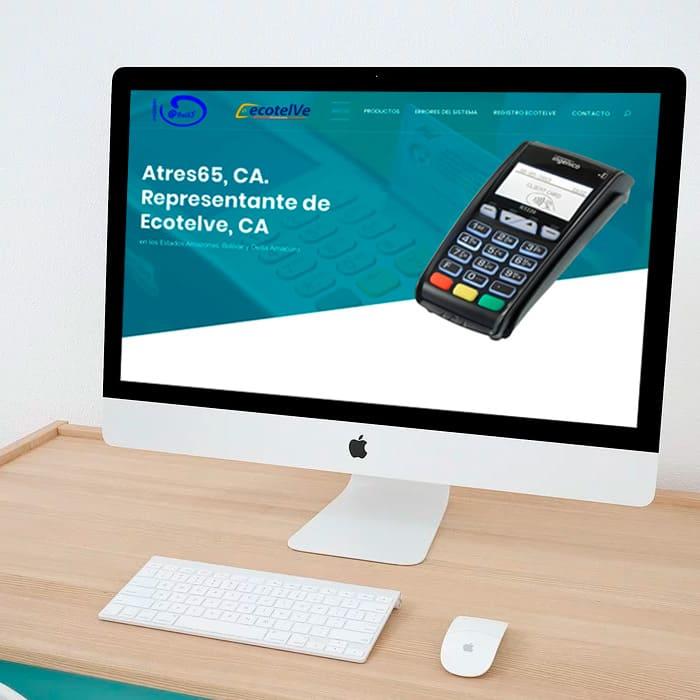 Portafolio Altacom Digital - Atres65 - Diseño de Páginas Web