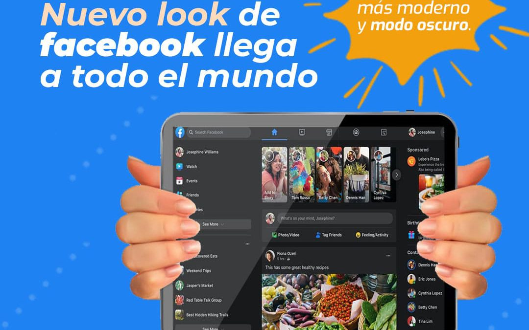 Nuevo diseño de facebook llega a todo el mundo