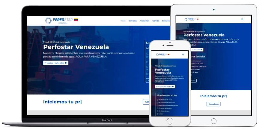 Portafolio Altacom Digital - Perfostar Venezuela