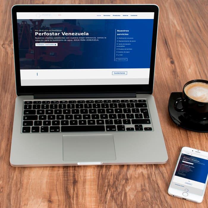Portafolio Altacom Digital - Perfostar Venezuela - Diseño de Páginas Web