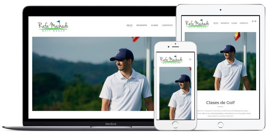 Rafael Machado Golf - Portafolio Altacom Digital