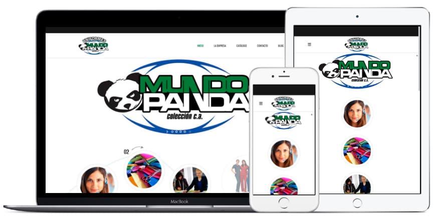 Portafolio Altacom Digital - Uniformes Mundo Panda