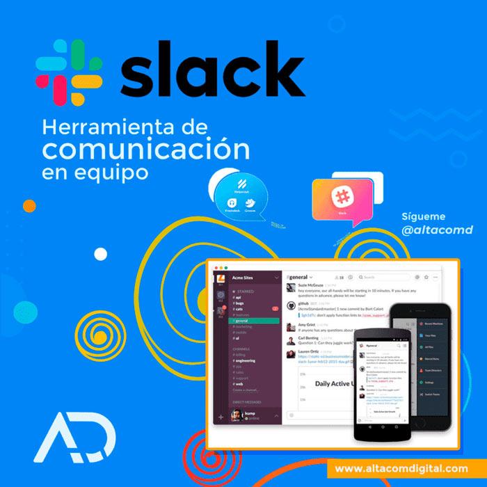 Slack, herramienta de comunicación de equipos