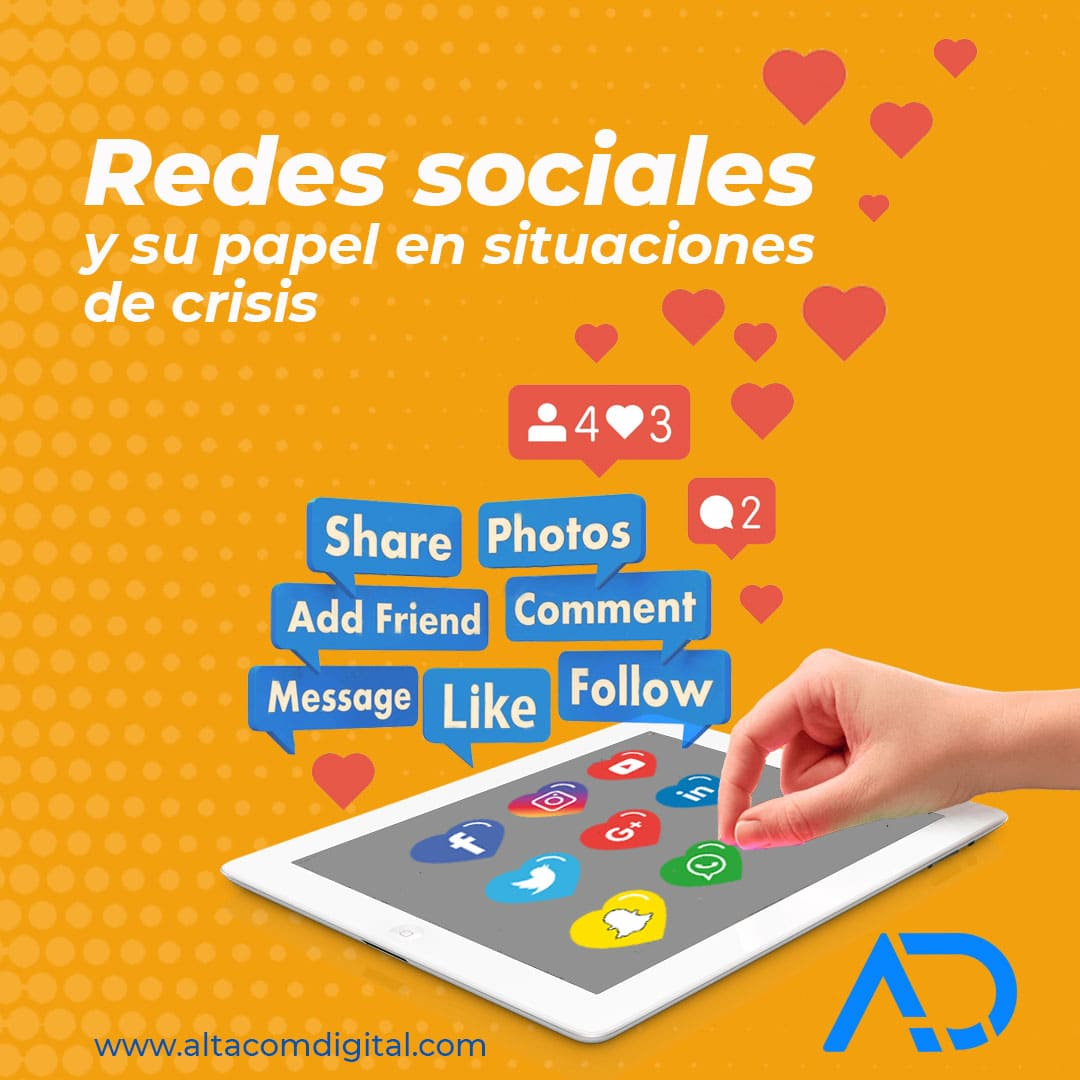 Redes Sociales y su papel en situaciones de crisis