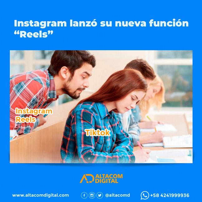 """Instagram lanzó su nueva función """"Reels"""""""
