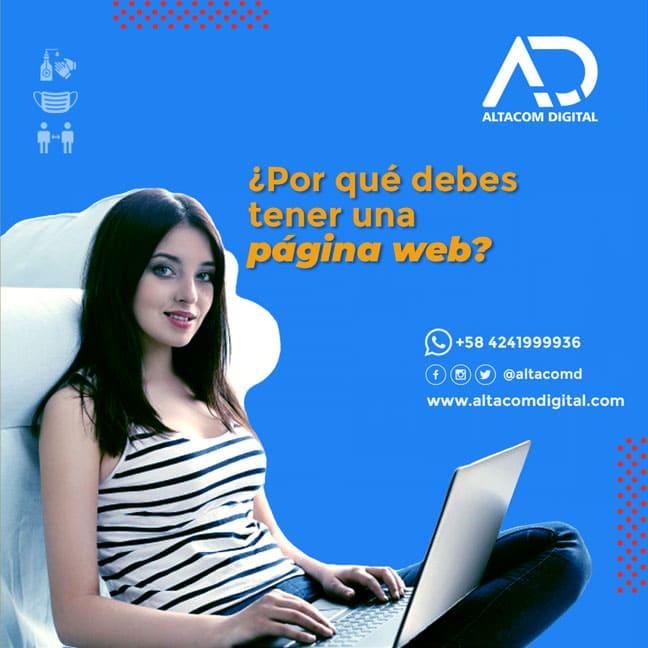 ¿Por qué debes tener una página web?