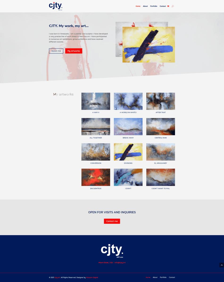 CJTY - Diseño de páginas Web Venezuela