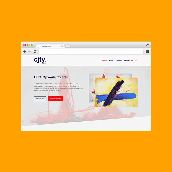 Diseño de Páginas Web Venezuela CJTY -