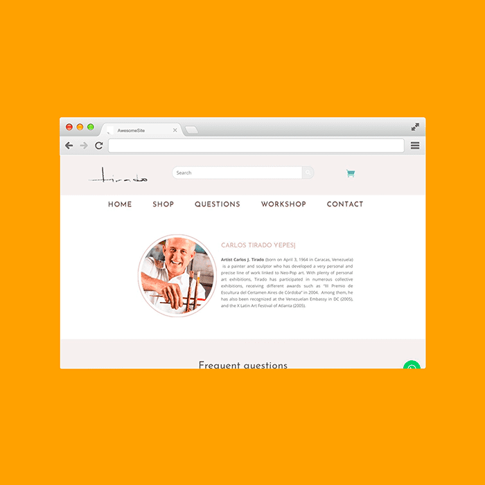 Diseño de Páginas Web Venezuela - Carlos Tirado